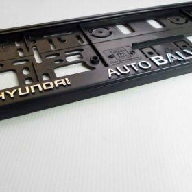 Podznačky auto - držáky SPZ - Hyundai