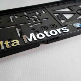 Podznačky auto - držáky SPZ - BMW