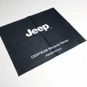 Hadřík z mikrovlákna z logem Jeep