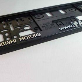 Podznačky auto - držáky SPZ - Mitsubishi