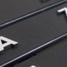 Podznačky auto - držáky SPZ - Škoda
