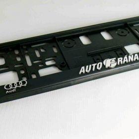 Podznačky auto - držáky SPZ - BMW, Audi