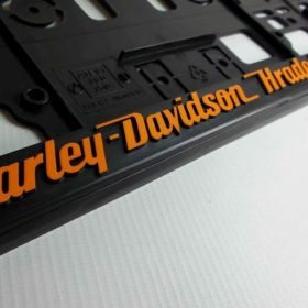 Podznačky auto - držáky SPZ - Harley - Davidson