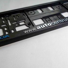 Podznačky auto - držáky SPZ - Dacia