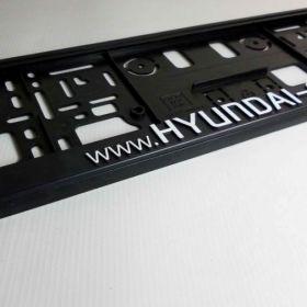 Podznačky auto - držáky SPZ - Hyundai, Uniqa