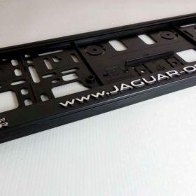 Podznačky auto - držáky SPZ - Jaguar