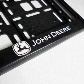 Podznačky auto - držáky SPZ - John Deere