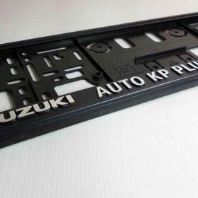 Podznačky auto - držáky SPZ - Suzuki