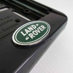 Podznačky auto - držáky SPZ - Land Rover