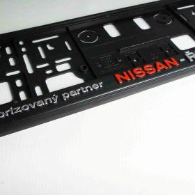 Podznačky auto - držáky SPZ - Nissan