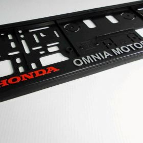 Podznačky auto - držáky SPZ - Honda