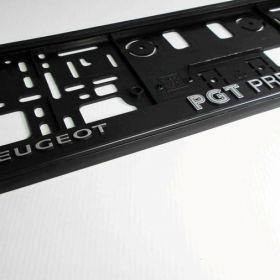 Podznačky auto - držáky SPZ - Peugeot