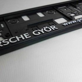 Podznačky auto - držáky SPZ - Porsche