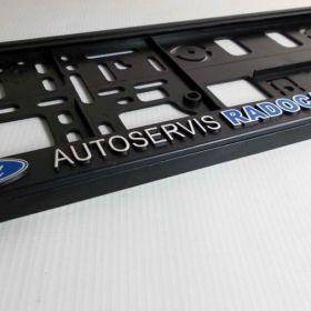 Podznačky auto - držáky SPZ - Ford