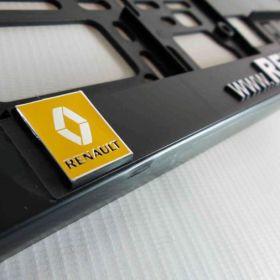 Podznačky auto - držáky SPZ - Renault