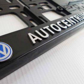 Podznačky auto - držáky SPZ - VW