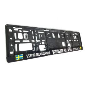Podznačky auto - držáky SPZ - Volvoshop