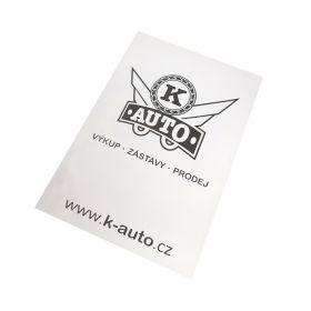 Ochranné papírové koberečky pro auto servisy - K-auto