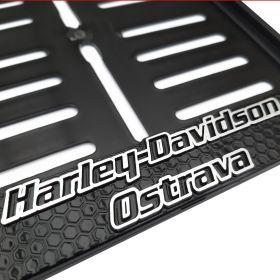 Podznačky moto - držáky SPZ - Harley Davidson Ostrava moto