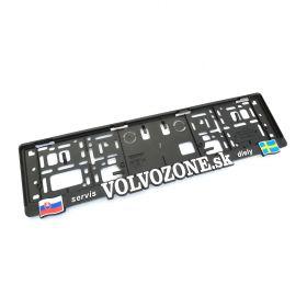Podznačky auto - držáky SPZ - Volvozone XXL