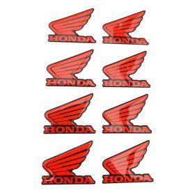 3D stickery - samolepky na auto - Honda