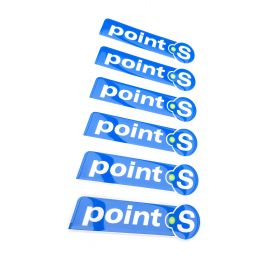 3D stickery - samolepky na auto - Point S