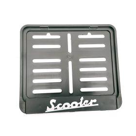 Podznačky moto - držáky SPZ - Scooter
