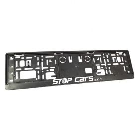 Podznačky auto - držáky SPZ - Stop cars