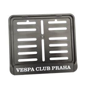 Podznačky moto - držáky SPZ - Vespa club Praha