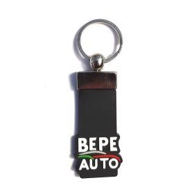 Kožené a gumové klíčenky s logem - reference - Bepe auto
