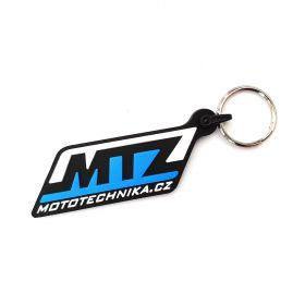 Kožené a gumové klíčenky s logem - reference - MTZ Mototechnika