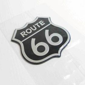 3D stickery - samolepky na auto - Route 66