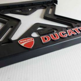 Podznačky moto - držáky SPZ - Ducati