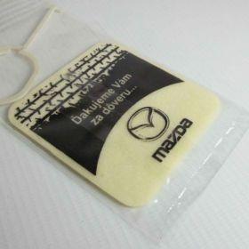 Auto parfémy - reference - Mazda