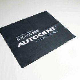 Hadřík z mikrovlákna z logem Autocent