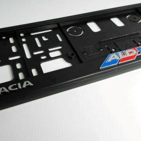 Podznačky auto - držáky SPZ - Dacia ALD Mobil