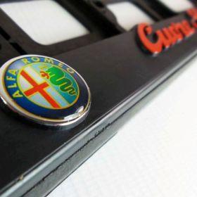 Podznačky auto - držáky SPZ - Alfa Romeo