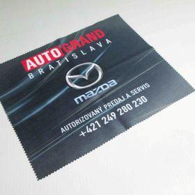 Hadřík z mikrovlákna z logem Mazda