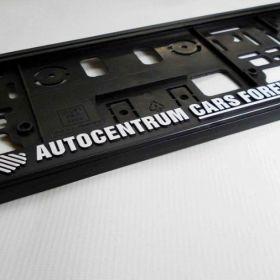 Podznačky auto - držáky SPZ - Cars Forever