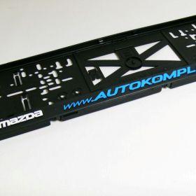 Podznačky auto - držáky SPZ - Mazda
