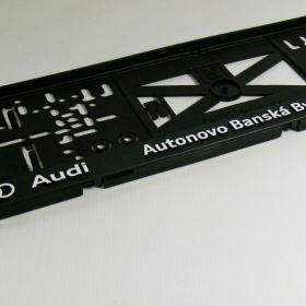 Podznačky auto - držáky SPZ - Audi