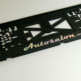 Podznačky auto - držáky SPZ - Autosalon