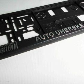 Podznačky auto - držáky SPZ - Fiat