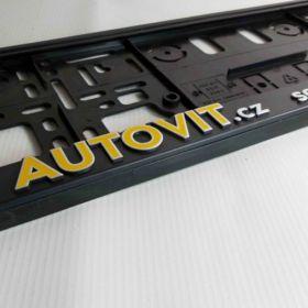 Podznačky auto - držáky SPZ - Opel