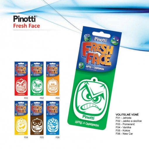 Pinotti Fresh Face - papírový osvěžovač vzduchu
