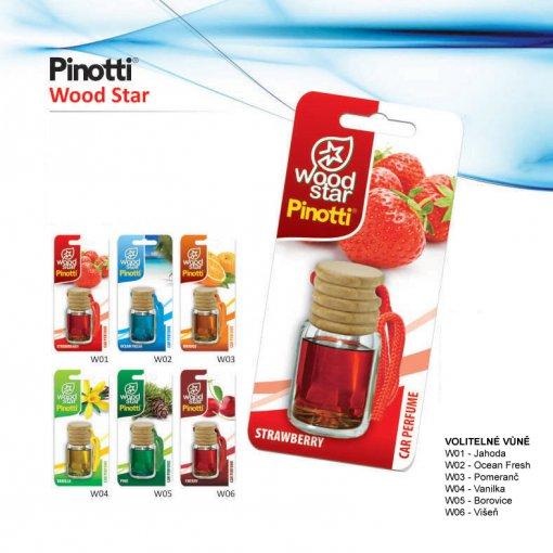Pinotti Wood Star - parfémový osvěžovač vzduchu