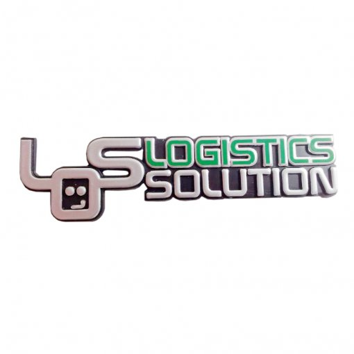3D sticker samolepka LOS logistic solution